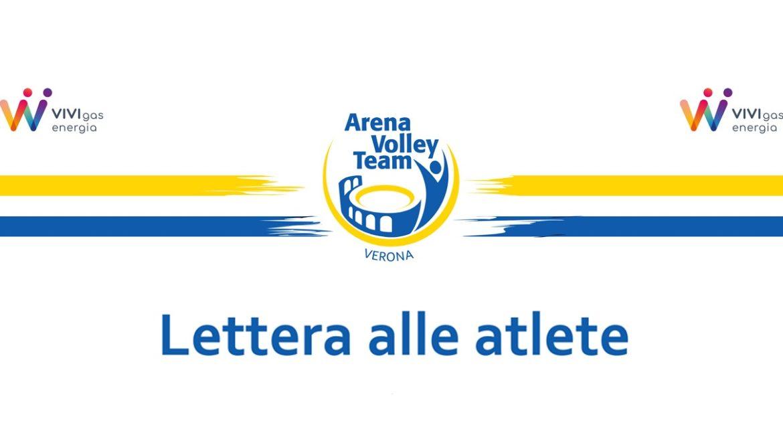 lettera alle atlete
